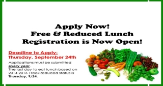 Free and Reduced Lunch Application Ad SIZED for Website15-16