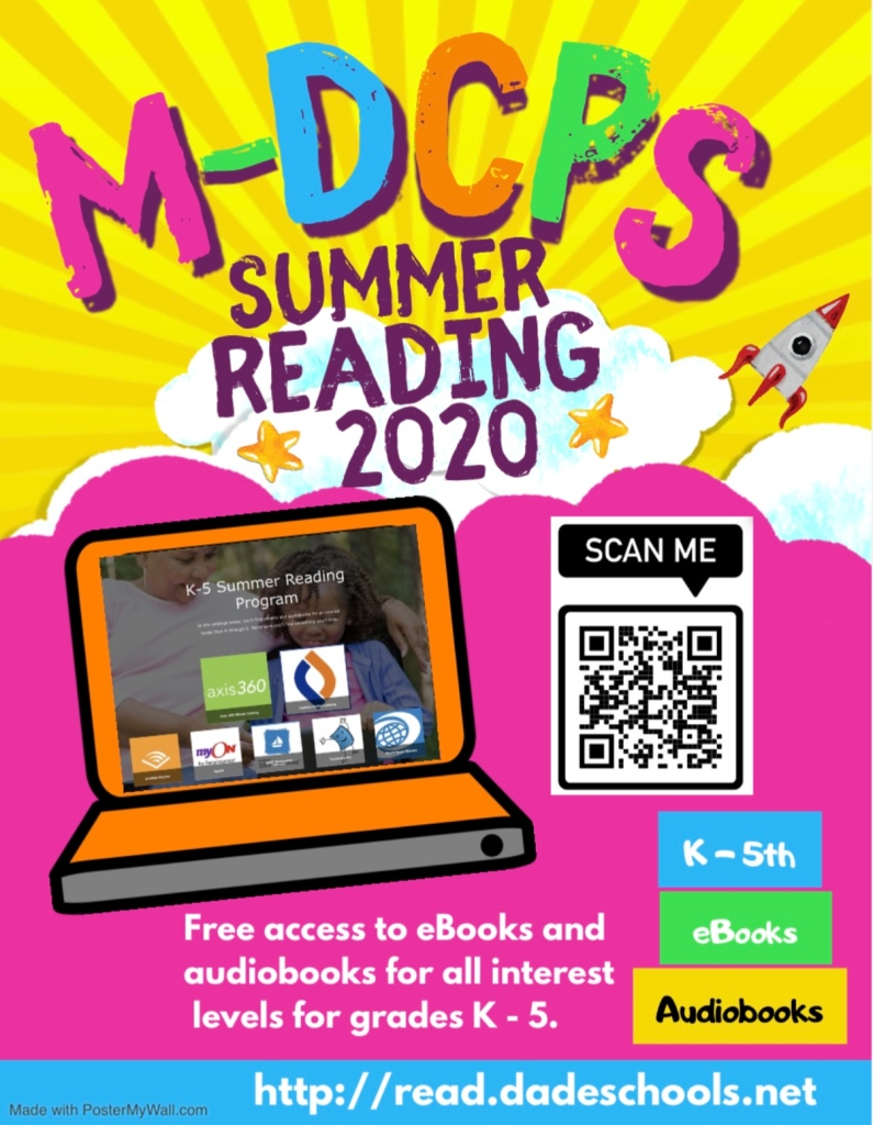 Summer Reading Flyer